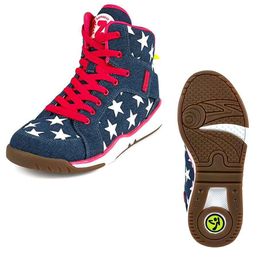 Zumba Energy Star - Denim Dream (size 10)