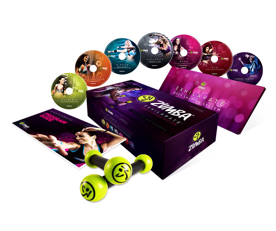 Zumba Exhilarate 7 DVD Set