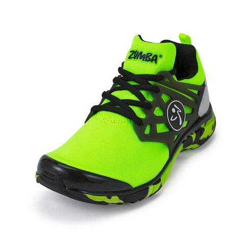 Zumba Fly Fusion - Green (sizes 7, 7.5, 8, 8.5)