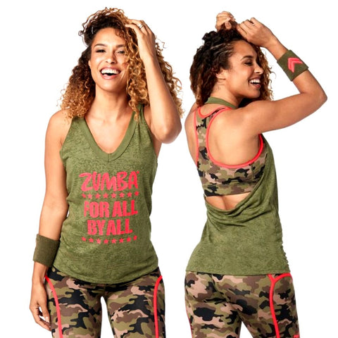 Zumba For All Halter Top (size M & L)