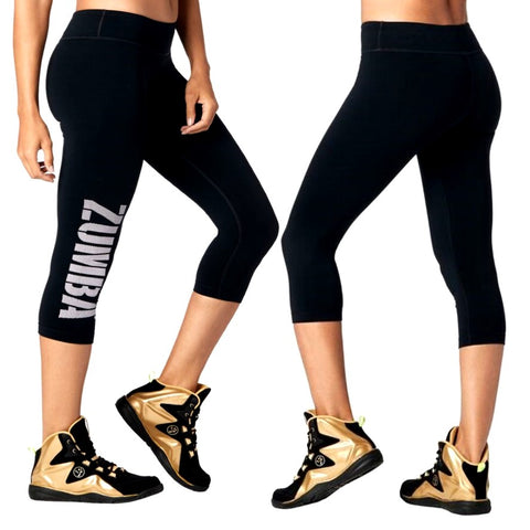 Zumba For All Perfect Capri Leggings (size XS - only 1 left)