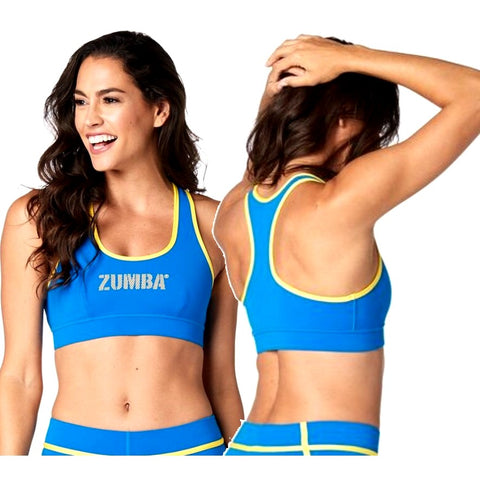 Zumba For All Scoop Bra (size XS - only 1 left)