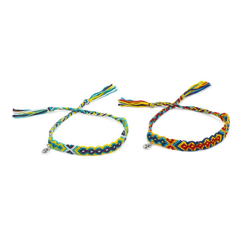 Zumba For All Woven Bracelets 2pk