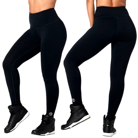 Zumba Forever High Waisted Ankle Leggings (sizes XS, XL)
