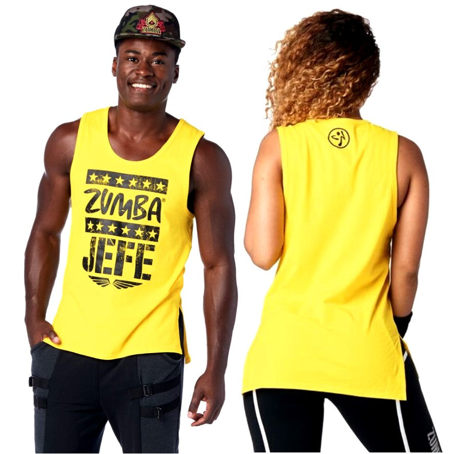 Zumba Jefe Tank (size L - only 1 left)