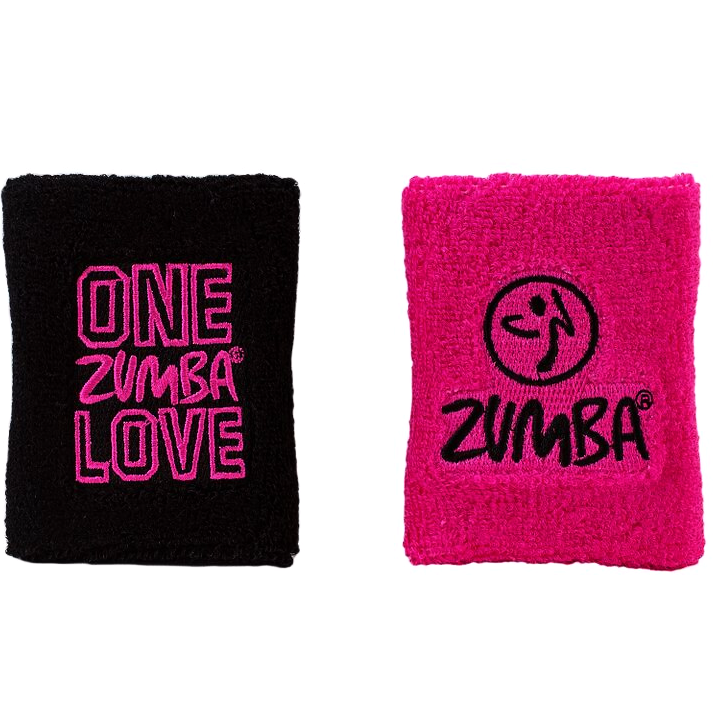 Zumba Love Wristbands 2pk (AUS)