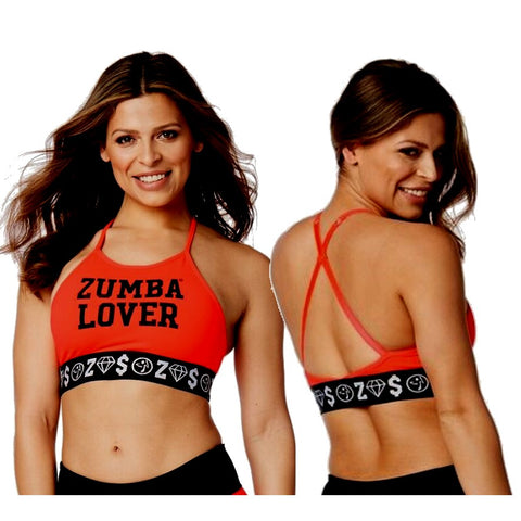 Zumba Lover High Neck Bra (sizes M, L)