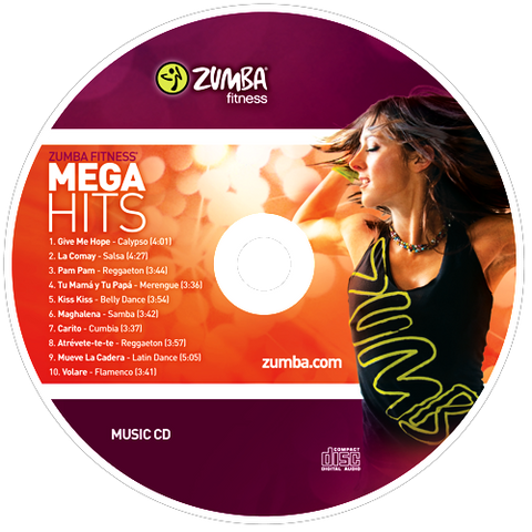 Zumba Mega Hits CD