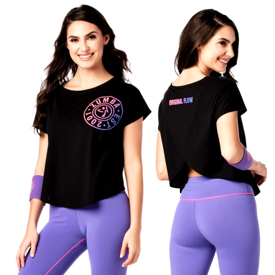 Zumba Original Flow Open Back Top (Pre-Order)