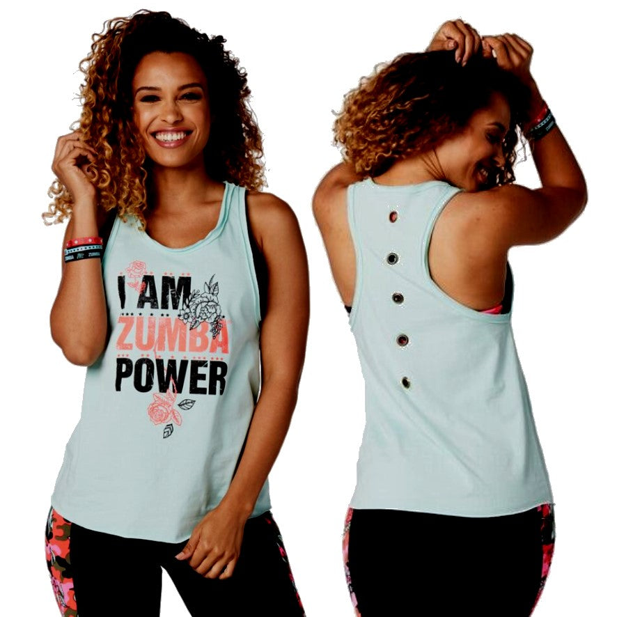 Zumba Power Tank (sizes S, M, L)