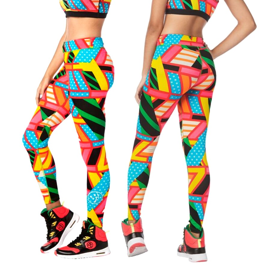 Zumba Junior Victory Long Leggings (size S - only 1 left)