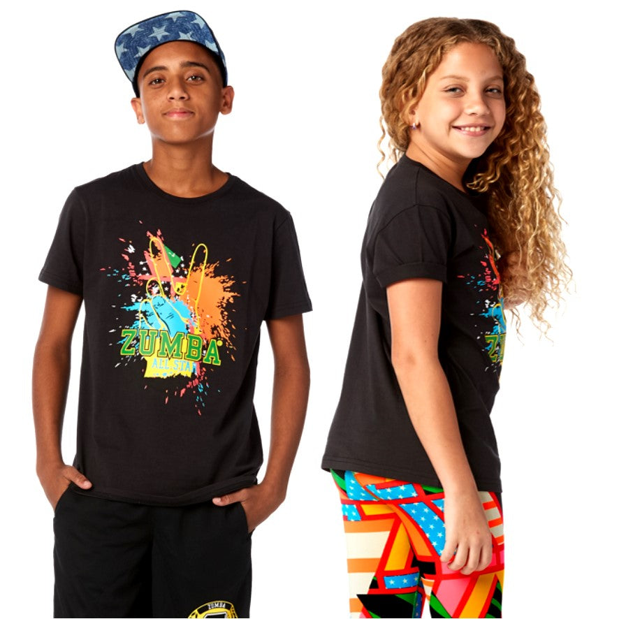 Zumba Junior Victory Tee (sizes M & L)