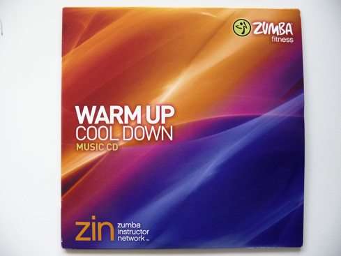 Zumba Warm Up And Cool Down Music CD (AUS)