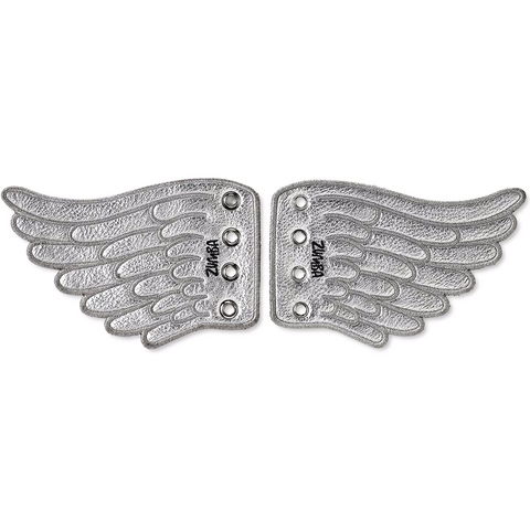 Zumba Wing Shoe Charms - Silver