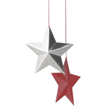 Christmas Star Decoration in Stainless Steel