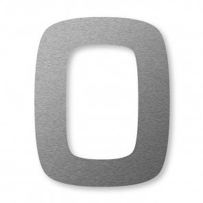Self adhesive number 0 which is 80mm high