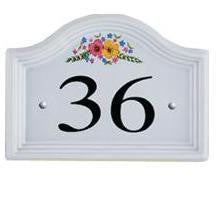 Ceramic House Numbers