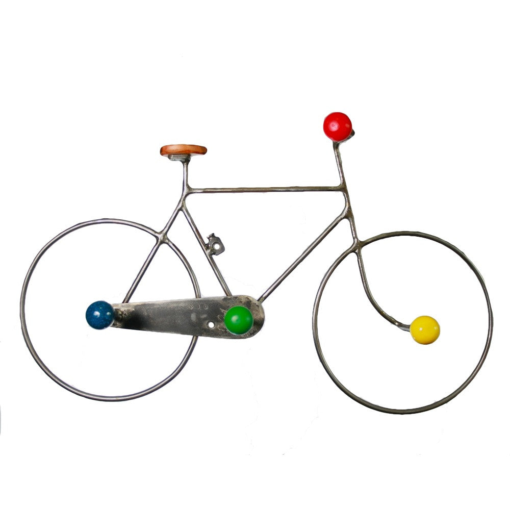 bicycle coat rack by Jos Van Hulsen