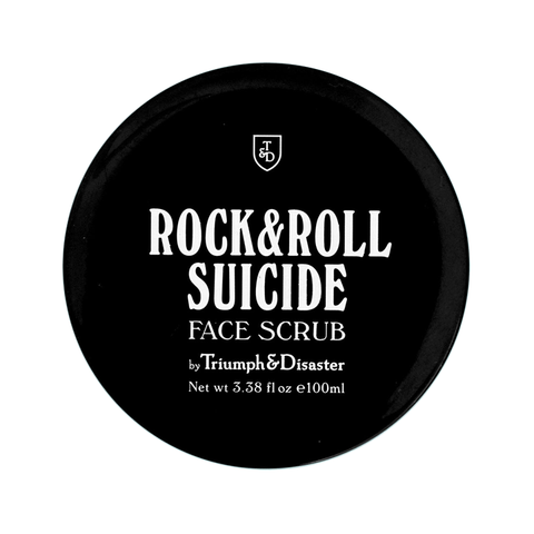 Triumph & Disaster mens face scrub