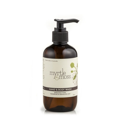 Myrtle & Moss Hand and body wash
