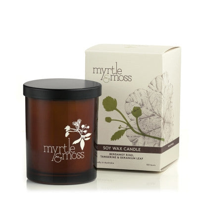 Soy wax candles Small - Myrtle & Moss