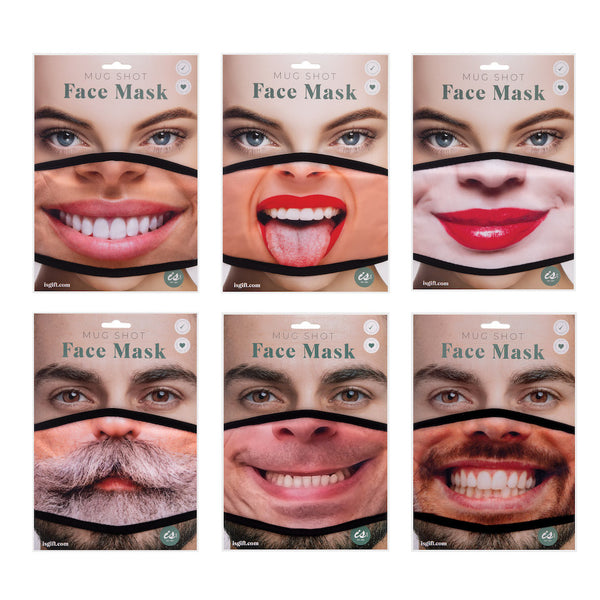 Mug Shot Face Mask