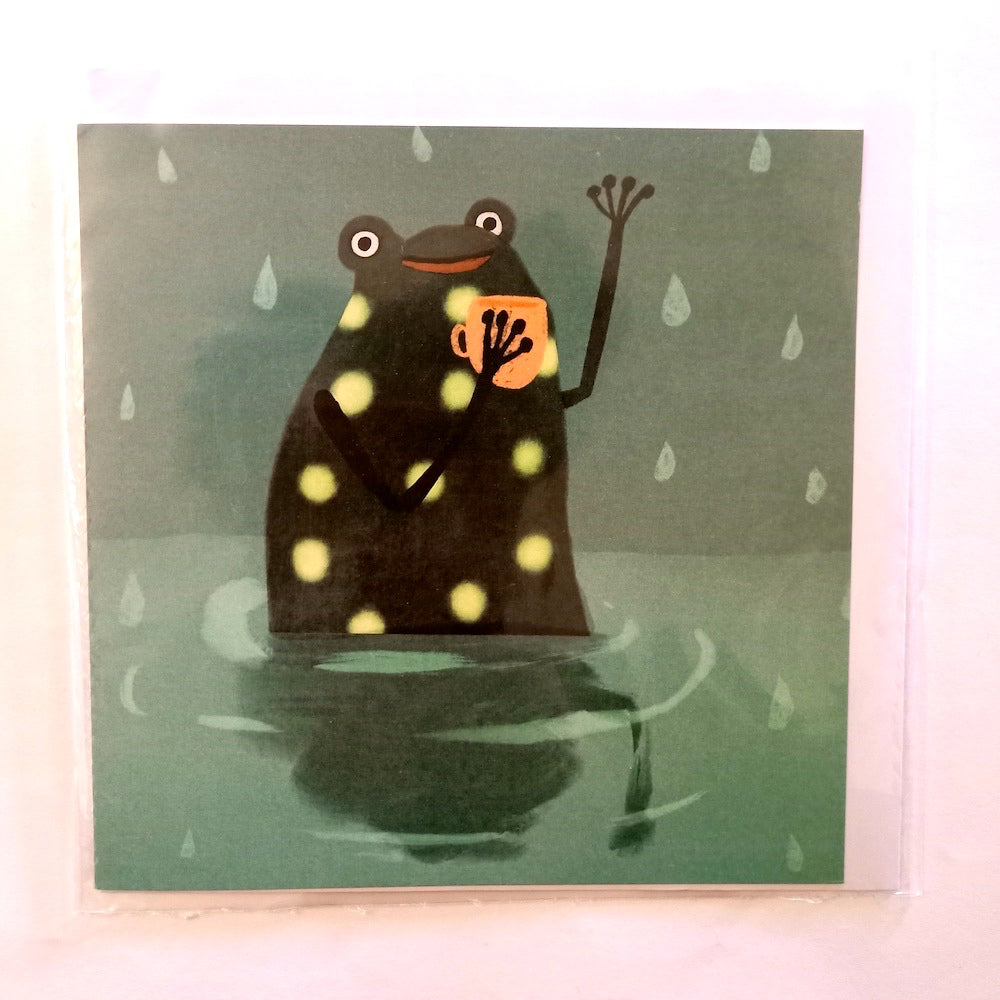 Card - Frog Greetings