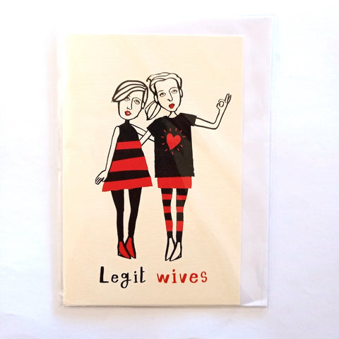 Card- Legit Wives