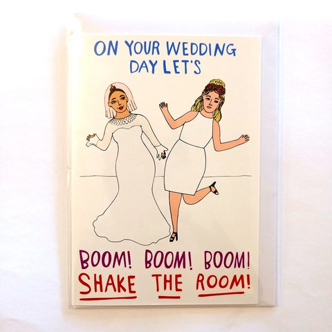 Card - Wedding Boom