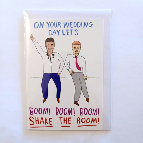 Card - Guys Wedding Boom