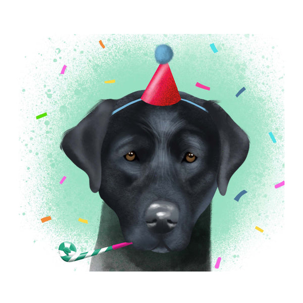 Card - Birthday Labrador