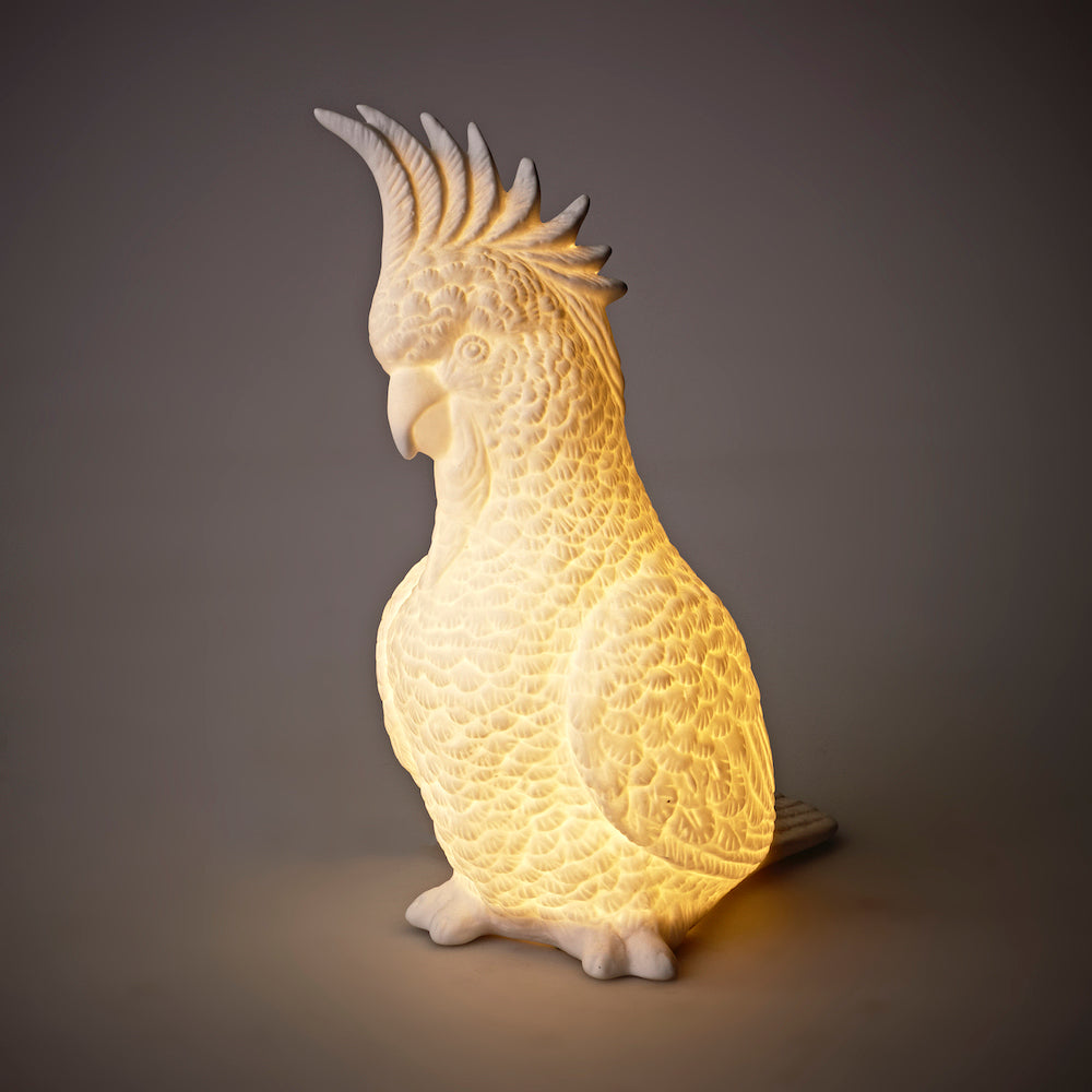 Cockatoo lamp