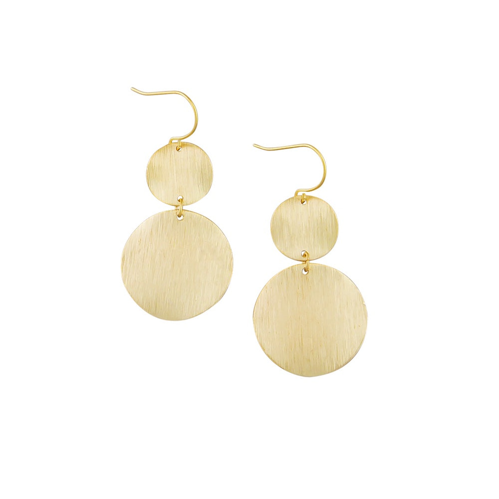 gold earrings under $20