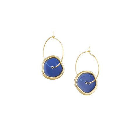 Blue Spinning Hoops