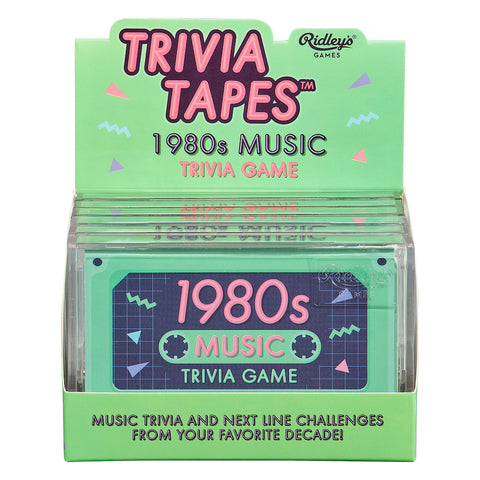 Ridley's 1980's Music Trivia Game