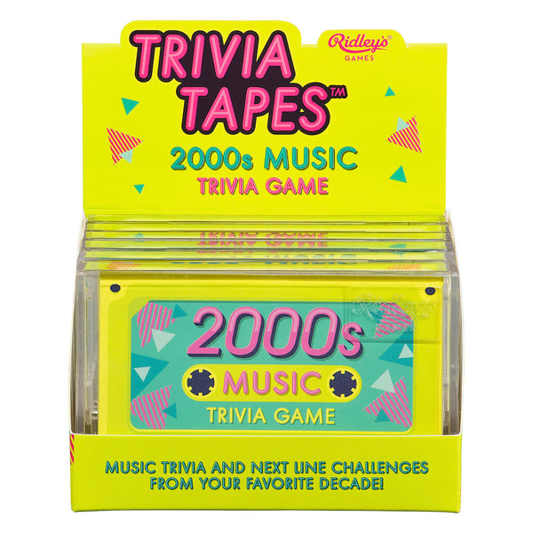 Ridley's 2000's Music Trivia Game