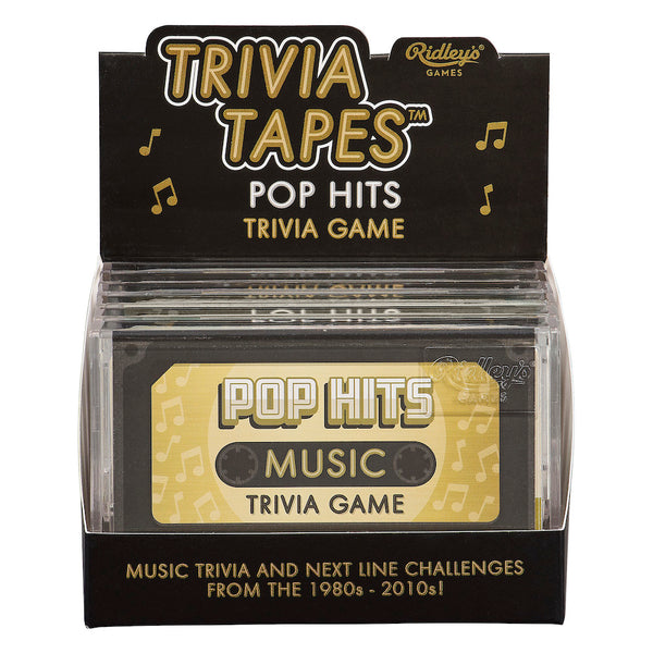 Ridley's Pop Hits Music Trivia Game