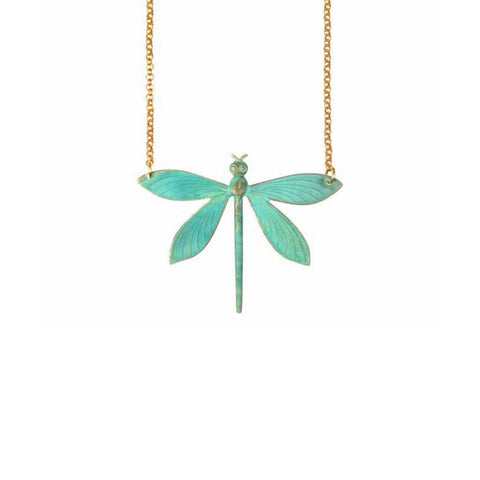 Verdi Dragonfly Necklace