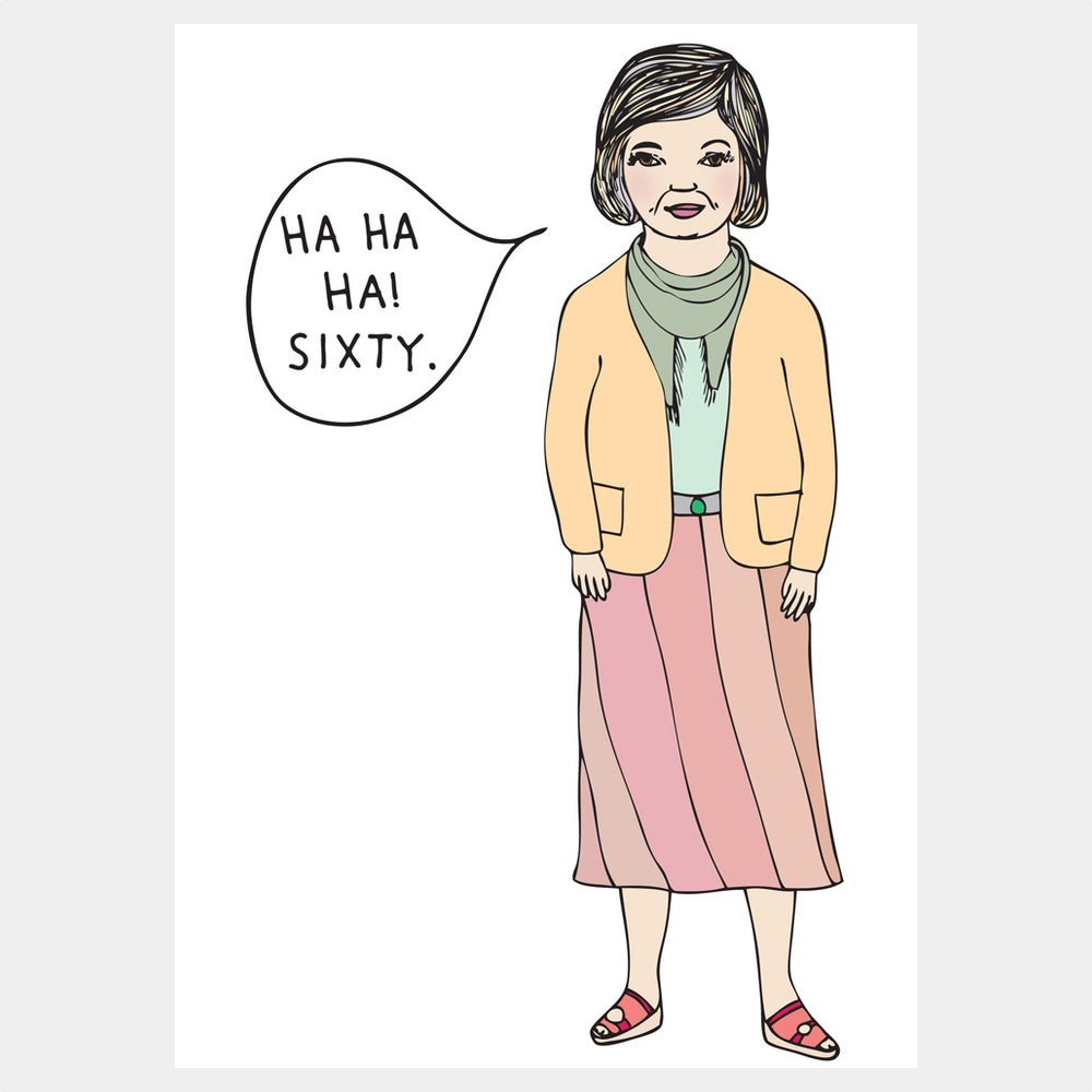 funny 60th birthday cards