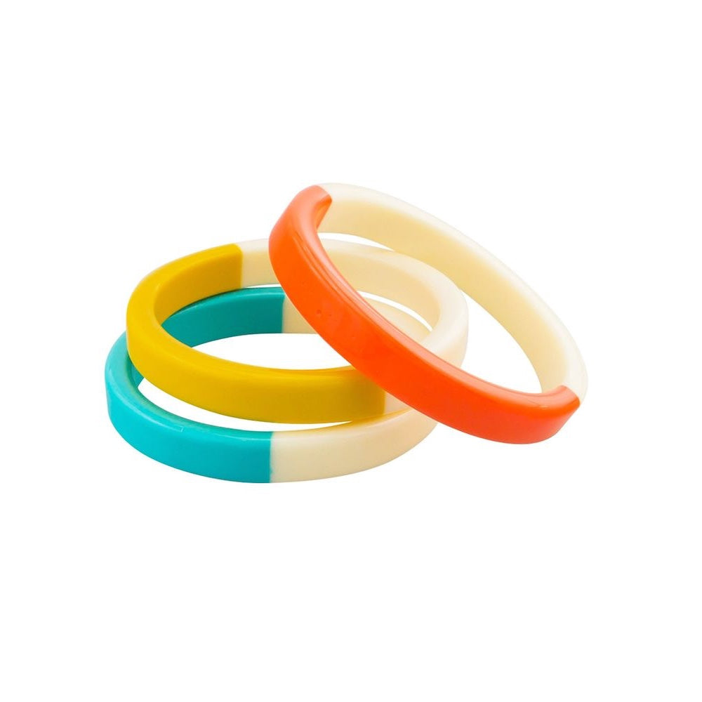 Set of 3 Sea Bangles