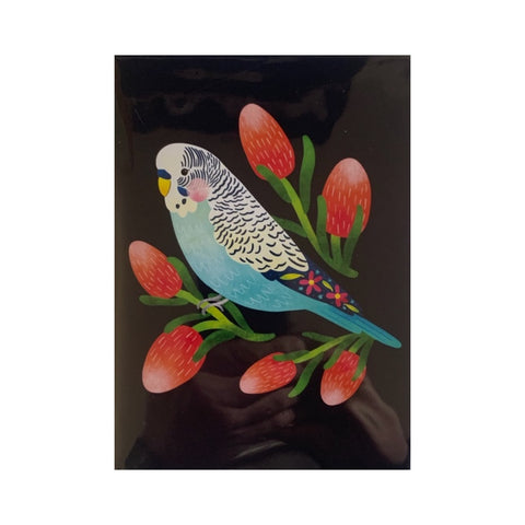 Card - Budgie