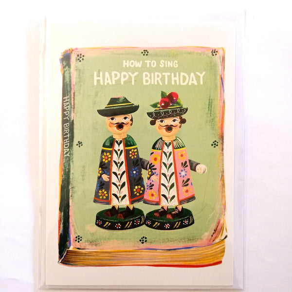 Card - How to sing Happy Birthday