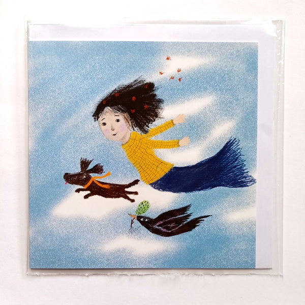 whimsical children's card
