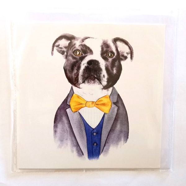 Card - Posh Staffy