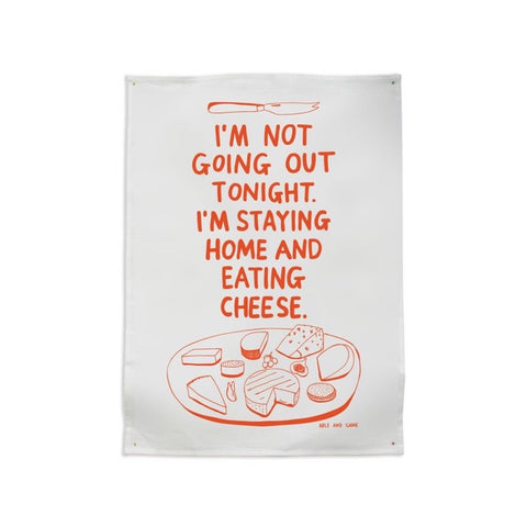 Cheese Lovers Teatowel