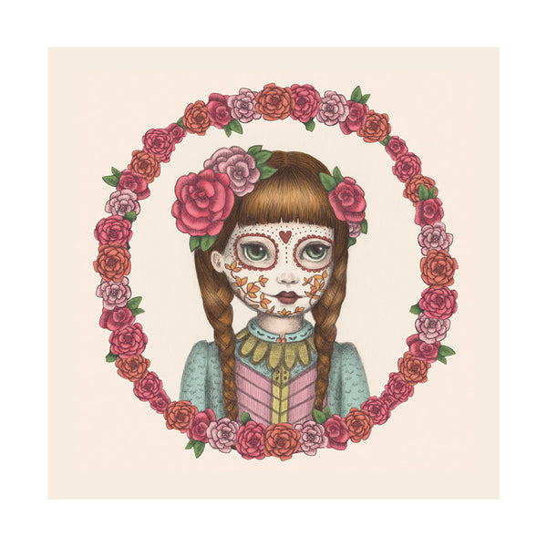 Card- Mexican Doll