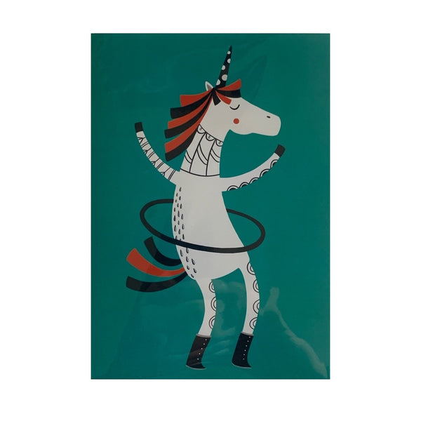 Card- Hula Unicorn
