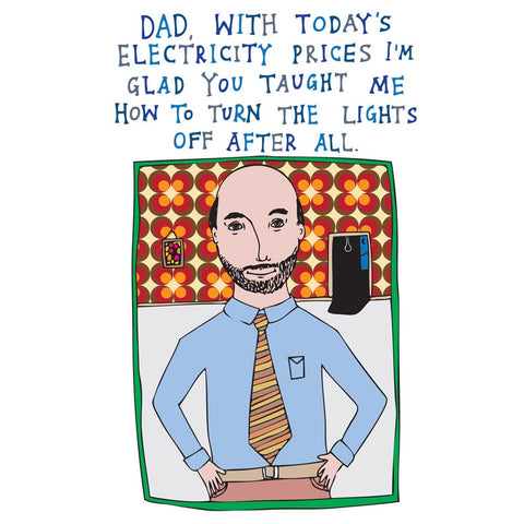Card - Lights Dad