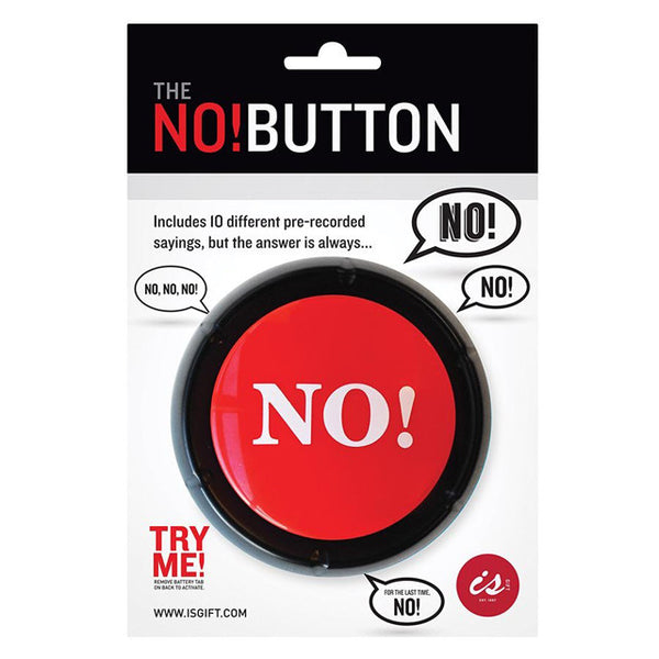 No button novelty gift