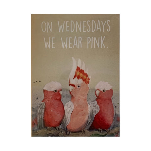 Card- Pink Wednesdays